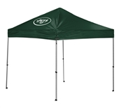 New York Jets 9 X 9 Canopy Tent - Straight Leg Tailgate Gazebo