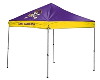 East Carolina University Pirates 9x9 Straight Leg Canopy with Carry Bag - Rawlings