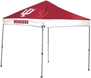 Indiana University Hoosiers 9x9 Straight Leg Canopy with Carry Bag - Rawlings
