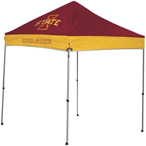 Iowa State University Cyclones 9x9 Straight Leg Canopy with Carry Bag - Rawlings