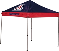 University of Arizona Wildcats 9x9 Straight Leg Canopy with Carry Bag - Rawlings