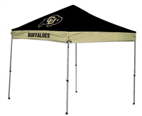 University of Colorado Buffalos 9x9 Straight Leg Canopy with Carry Bag - Rawlings
