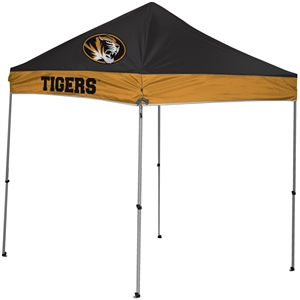 University of Missouri Tigers 9x9 Straight Leg Canopy with Carry Bag - Rawlings