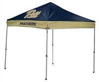 University of Pittsburgh Panthers 9 X 9 Straight Leg Canopy Tailgate Tent