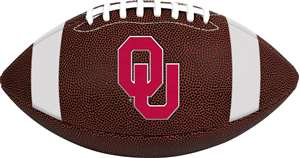 University of Oklahoma Sooners Rawlings Game Time Full Size Football Team Logo