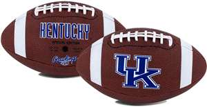 University of Kentucky Wildcats  Rawlings Game Time Full Size Football Team Logo