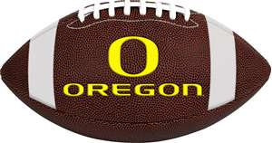 University of Oregon Ducks Rawlings Game Time Full Size Football Team Logo