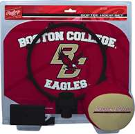Boston College Slam Dunk Indoor Basketball Hoop Set Over The Door
