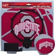 Ohio State University Buckeyes Slam Dunk Indoor Basketball Hoop Set Over The Door