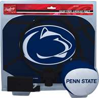Penn State University Nittany Lions Slam Dunk Indoor Basketball Hoop Set Over The Door