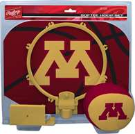 University of Minnesota Golden Gophers Slam Dunk Indoor Basketball Hoop Set Over The Door