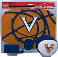 University of Virginia Cavaliers Slam Dunk Indoor Mini Basketball Goal Hoop Game