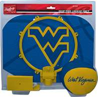 University of West Mountaineers Virginia Slam Dunk Indoor Basketball Hoop Set Over The Door