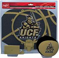University of Central Florida Kinghts Slam Dunk Indoor Basketball Hoop Set Over The Door