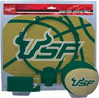 University of South Florida Bulls Slam Dunk Indoor Basketball Hoop Set Over The Door