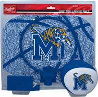 University of Memphis Tigers Slam Dunk Indoor Basketball Hoop Set Over The Door