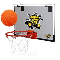 Wichita State University Shockers Indoor Basketball Goal Hoop Set Game