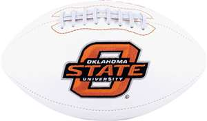 Oklahoma State University Cowboys Signature Series Autograph Full Size Rawlings Football