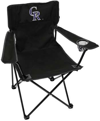 Colorado Rockies Elite Quad Chair