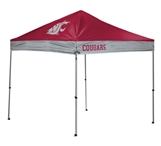 Washington State Cougars 10 X 10 Straight Leg Canopy Tent