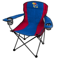 University of Kansas Jayhawks Folding Chair XL Big Boy 300 lbs