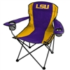 LSU Tigers Folding Chair XL Big Boy 300 lbs