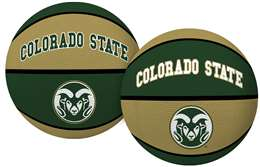 Colorado State University Rams Alley Oop Youth-Size Rubber Basketball