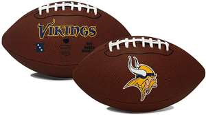 Minnesota Vikings  Game Time Full Size Football - Rawlings