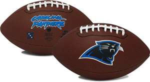 "Carolina Panthers NFL ""Game Time"" Full Size Football Full Size Football"