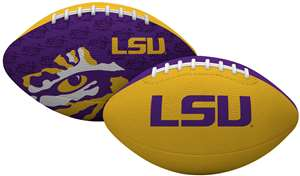 LSU Louisiana State University Tigers Gridiron Junior Size Football