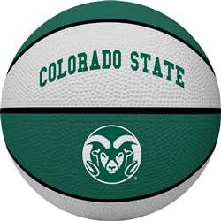 Colorado State University Rams Full Size Crossover Basketball - Rawlings