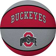 Ohio State University Buckeyes Full Size Crossover Basketball - Rawlings