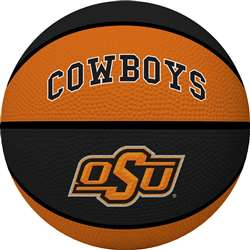 Oklahoma State University Cowboys Full Size Crossover Basketball - Rawlings