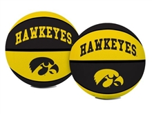 University of Iowa Hawkeyes Rawlings Full Size Basketball Team Logo