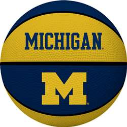 University of Michigan Wolverines Full Size Crossover Basketball - Rawlings
