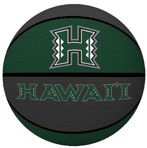 University of Hawaii Rainbow Warriors Full Size Crossover Basketball - Rawlings