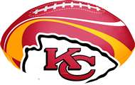 "Kansas City Chiefs ""Goal Line""  8"" Softee Football"