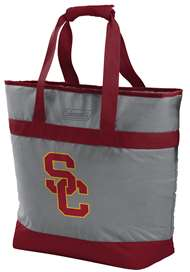 USC University of Southern California Trojans 30 Can Soft Sided Tote Cooler