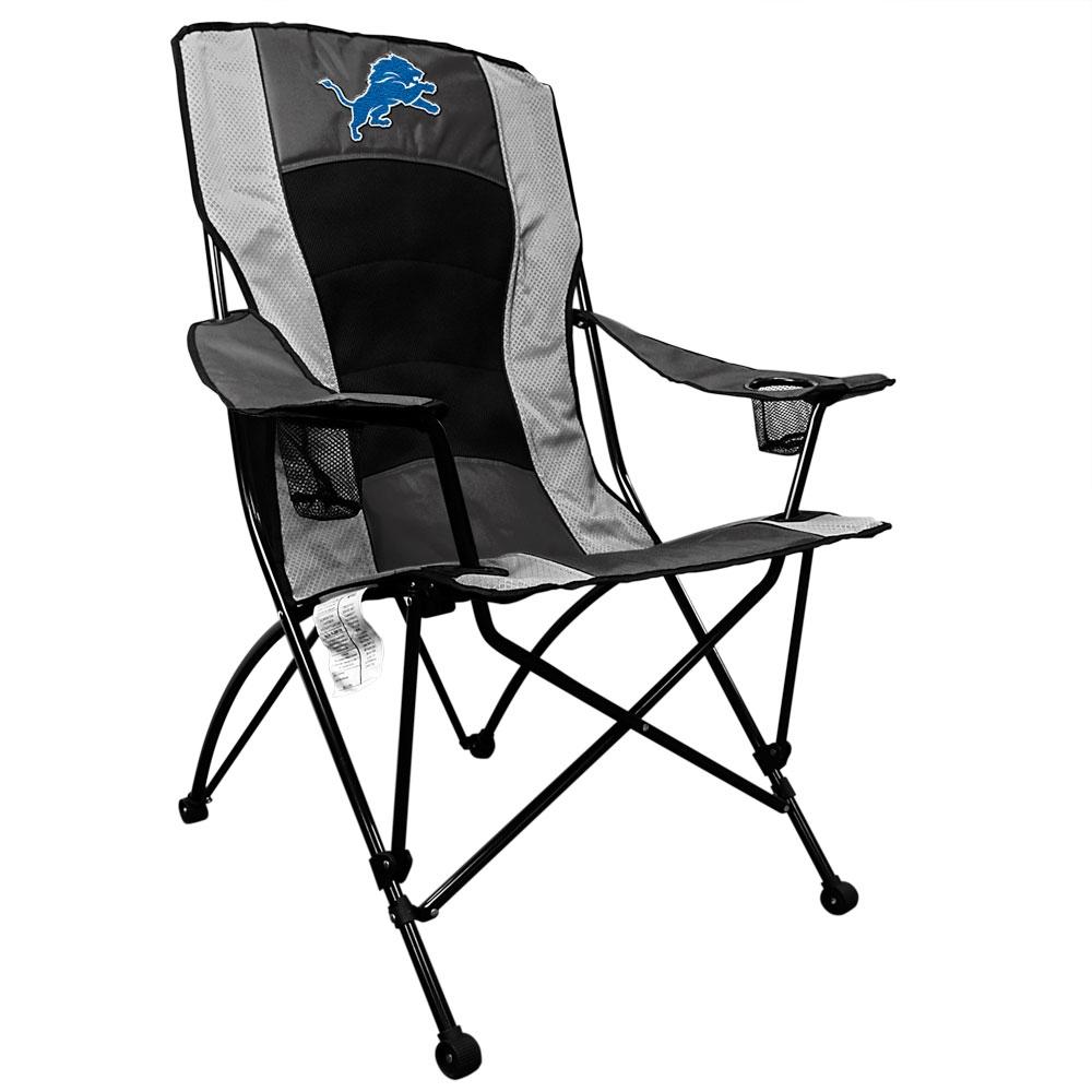 Superb Detroit Lions High Back Folding Chair Download Free Architecture Designs Sospemadebymaigaardcom