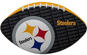 "NFL Pittsburgh Steelers ""Gridiron"" Junior-Size Football"