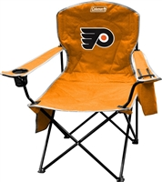 Philadelphia Flyers Cooler Quad Folding Chair XL Big Boy NFL