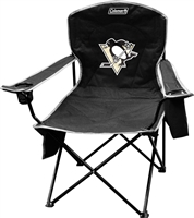Pittsburgh Penguins Coleman Cooler Quad Chair Big Boy Folding NFL Chair