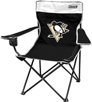 Pittsburgh Penguins Folding Chair - Coleman Quad Tailgate Camping Chairs