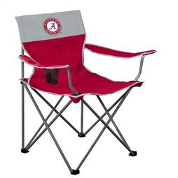 Alabama Crimson Tide Big Boy Folding Chair with Carry Bag