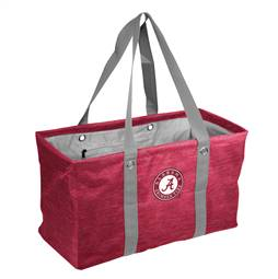 University of Alabama Crimson Tide Crosshatch Picnic Tailgate Caddy Tote Bag