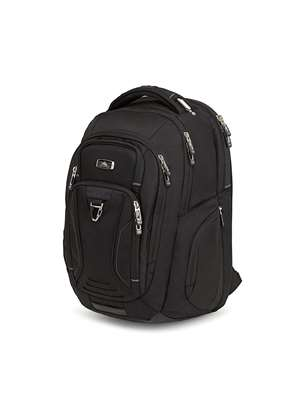 High Sierra Endeavor Business Elite Backpack  BLACK