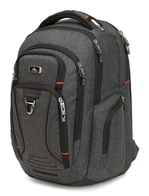 High Sierra Endeavor Business Elite Backpack  MERCURY HEATHER/BLACK