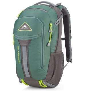 High Sierra Pathway Frame Packs 30L Pine/Slate/Chartreuse
