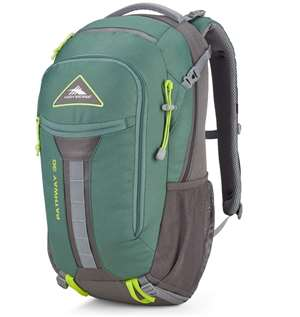 High Sierra Pathway Frame Packs 90L Pine/Slate/Chartreuse