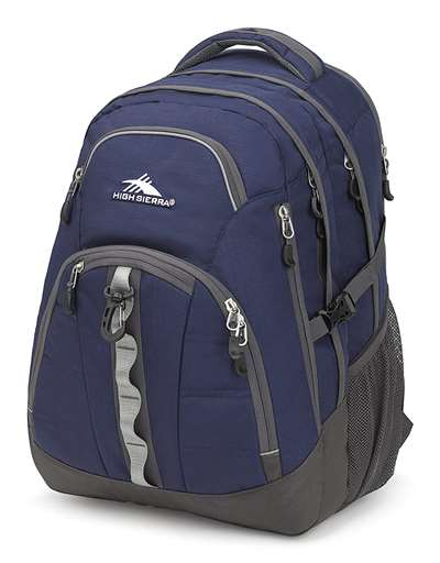 High Sierra BTS Backpacks ACCESS 2.0 TRUE NAVY/MERCURY